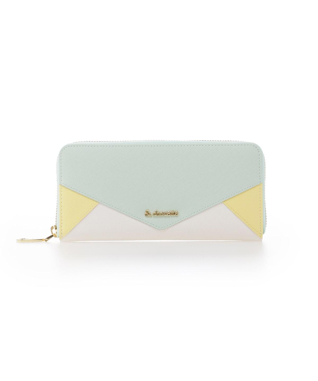 レター型ラウンドジップ財布