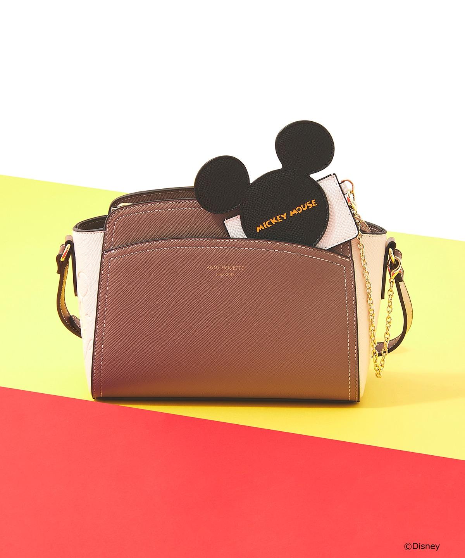 【Disney Collection】カードケース付きミッキーショルダーバッグ