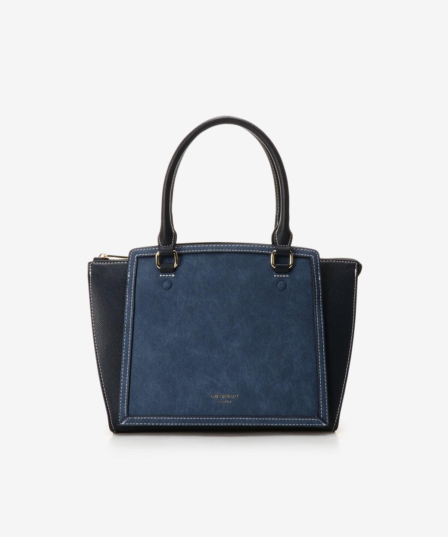 ★デニム調新型2wayハンドバッグ